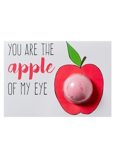 Bomb Cosmetics You Are The Apple Of My Eye Blaster Card Renkli